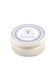Nourishing Body Cream with Banana and Apricot extracts, floral fragrance of Monoi